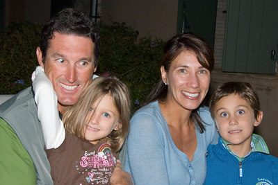 Brett Jones & family -- like father like son...
