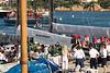 Porto Cervo dock scene.
