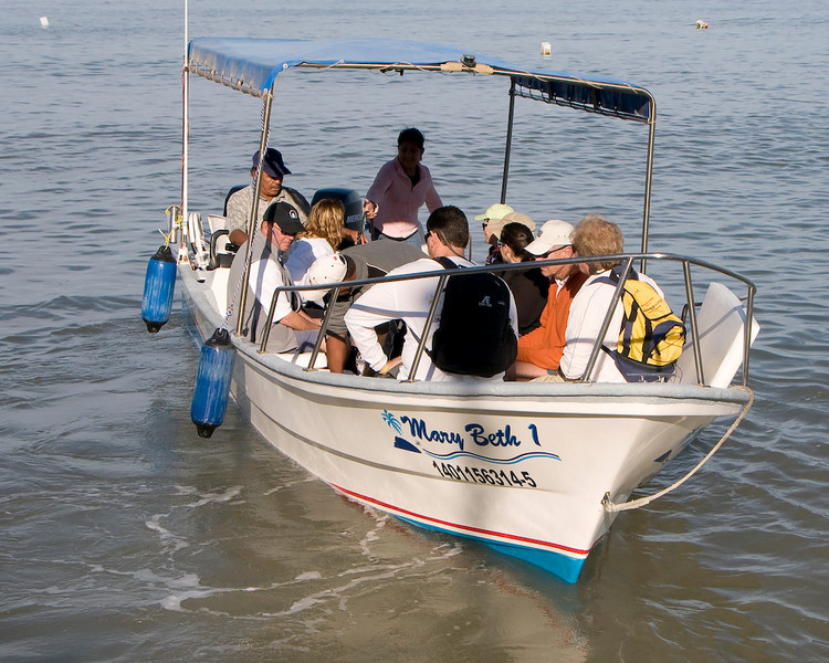 Our transportation from the pier in Old Town PV to Paradise Village.