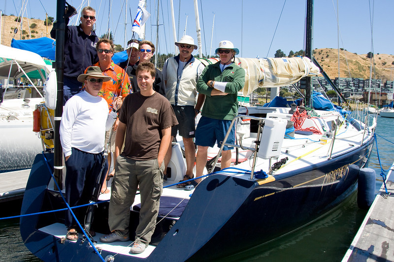 The Morpheus team ready to leave the RYC dock.