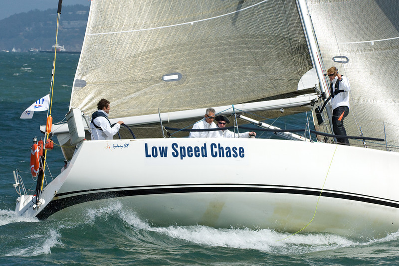 Low Speed Chase, Sydney 38; pre-start