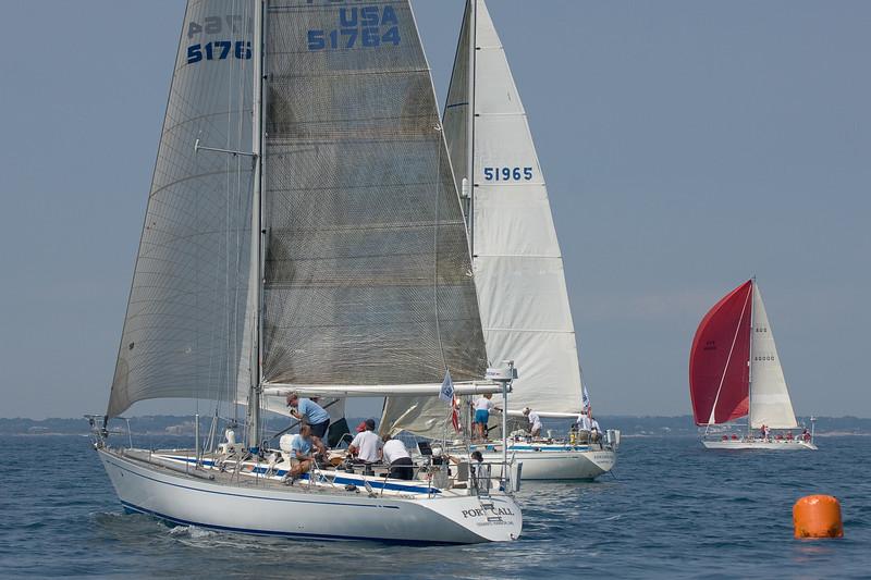Port Call, Swan 46 MK I C/B; Edelweiss, Swan 38