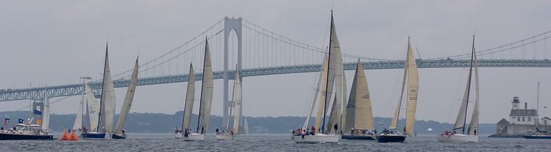 The start of the Around the Island Race.