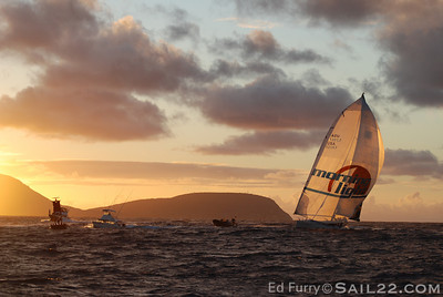 Morning Light Transpac Finish
