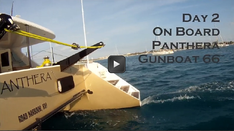 Civilized Racing On Board Panthera During St. Maarten Heineken Regatta