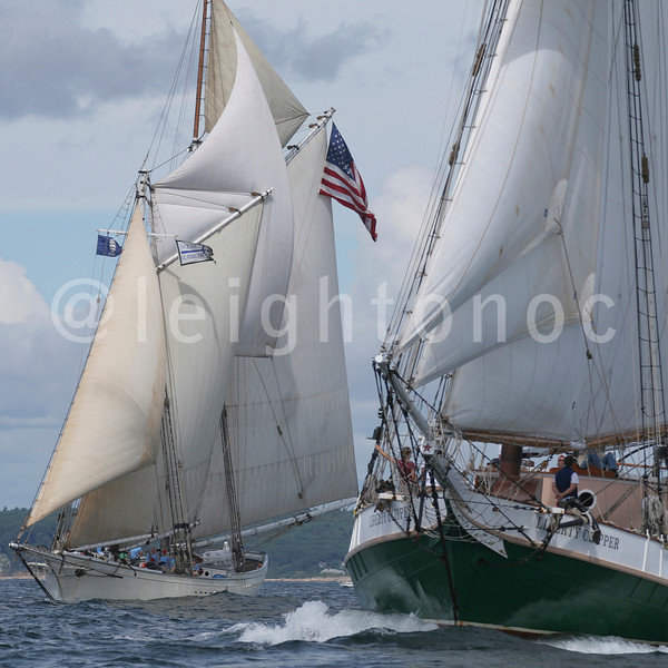 Name these two schooners and when and where did I take it ?