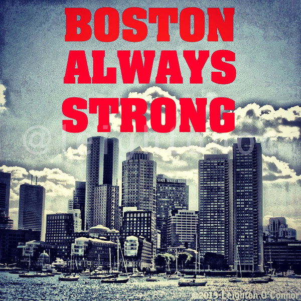 Stay strong Boston.  Our finest got your back. They'll gettem' & swing him by Southy for a visit before bringing him in.  He'll tell his cell to stay out of Boston.