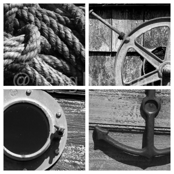 Bit of a #nautical theme today #rockportfest #rockport #modif1day #capeann @capeannchamber @todayoncapeann #blackandwhite