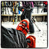 Break time (for my shoe shot fans) Great conditions today @attitashresort today #skiing #newhampshire #snowboard #snowboarding #riding #snow #mountains