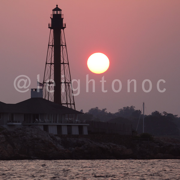 Took this coming in last night. #marblehead #sunset #nofilters