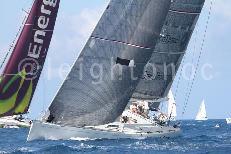 Breeze & seas for final day of @sxmheineken #sxmheineken @vactionstmaarten  @stmaartentravel #sailing #regattas