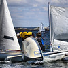 CRASH! Image will be in the June issue of @sailingworldmag on the Dr. Crash page #sailing