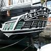Preserved warship at Hartlepool.