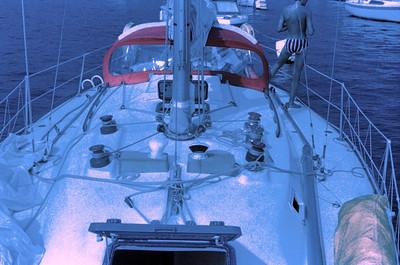 Sailing around Long Island, NY