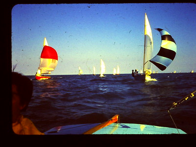 Sailing on Lake Michigan w Bob Luce in His Arrow 1968