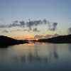 Loch Eport Hebrides looking North West to a midsummer sunset