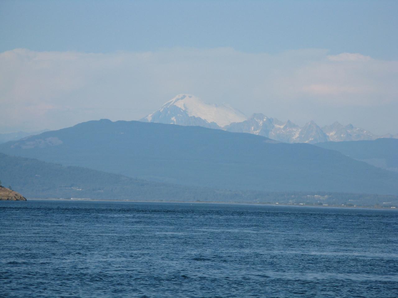 Mount Baker from Fidalgo Bay.