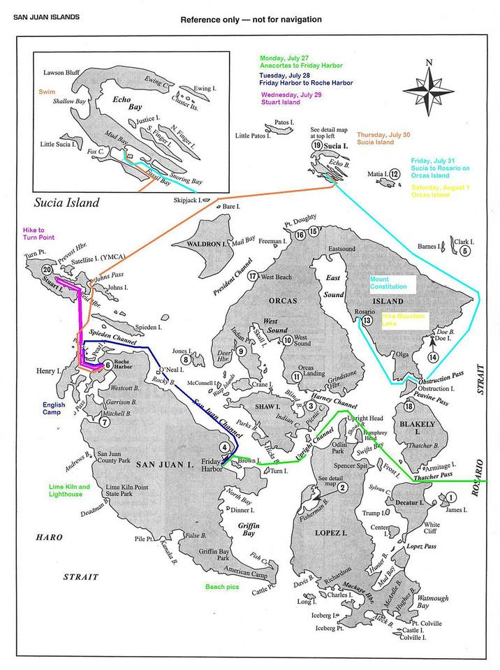 SJ Saturday map