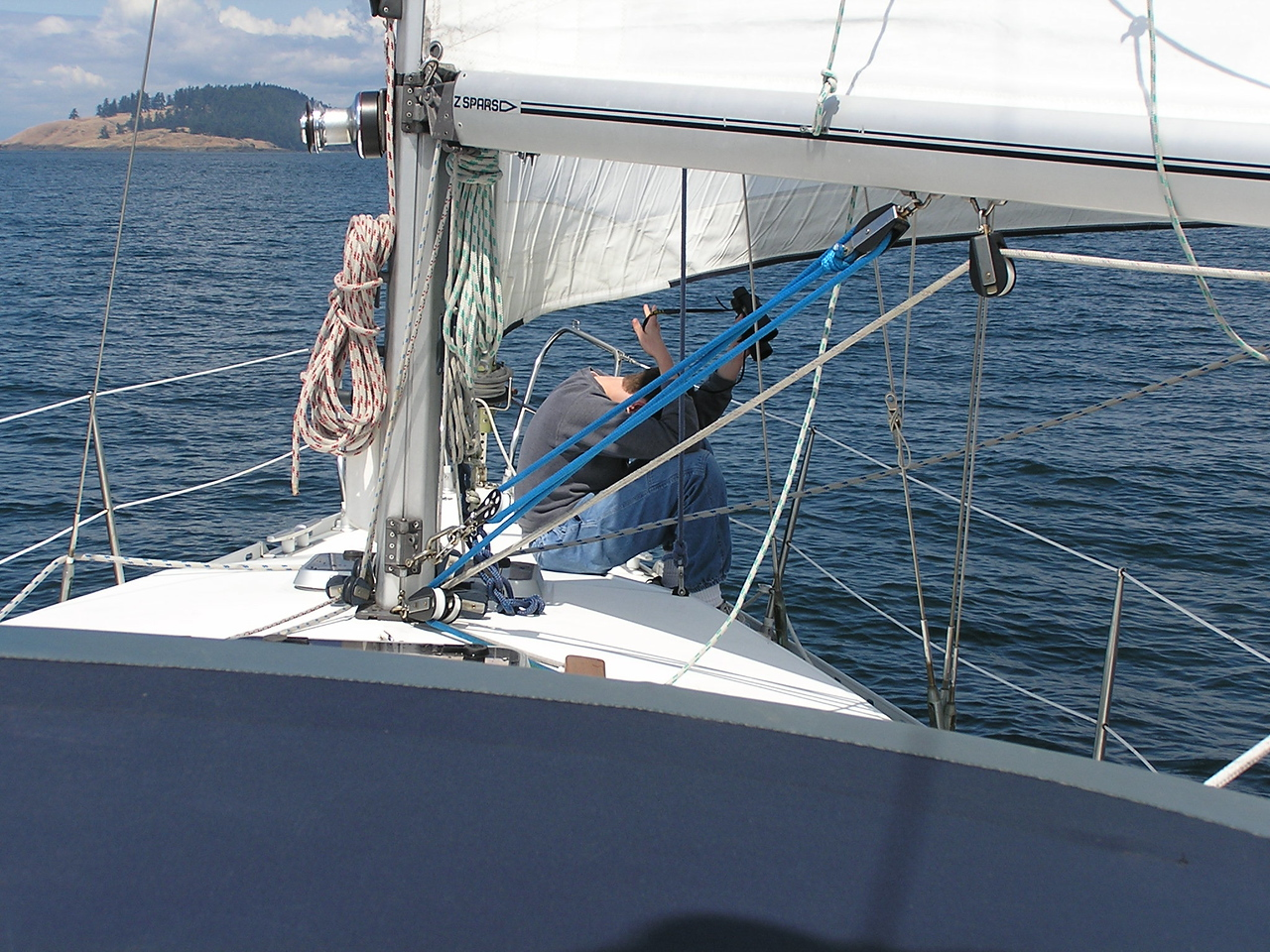 Day 2: Sailing from Deer Harbor to Browning Harbour on Pender Island in Canada