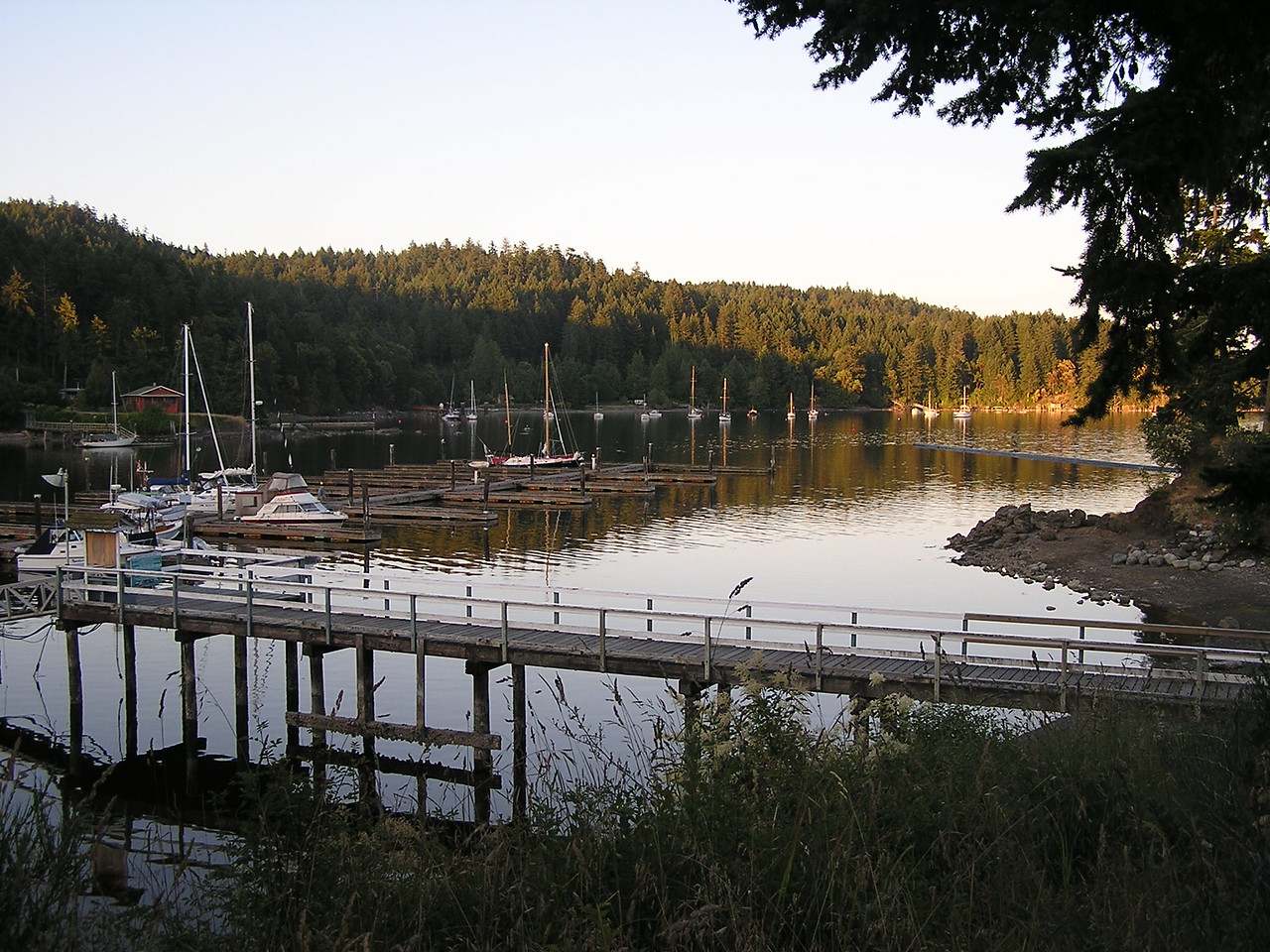 Bedwell Harbour on Pender Island, Canada