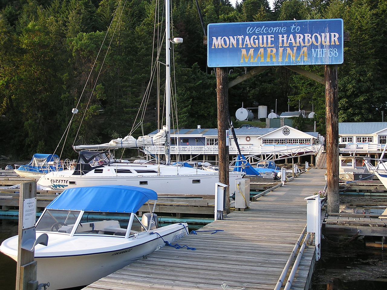 Day 3:  Montague Harbour on Galiano Island, Canada
