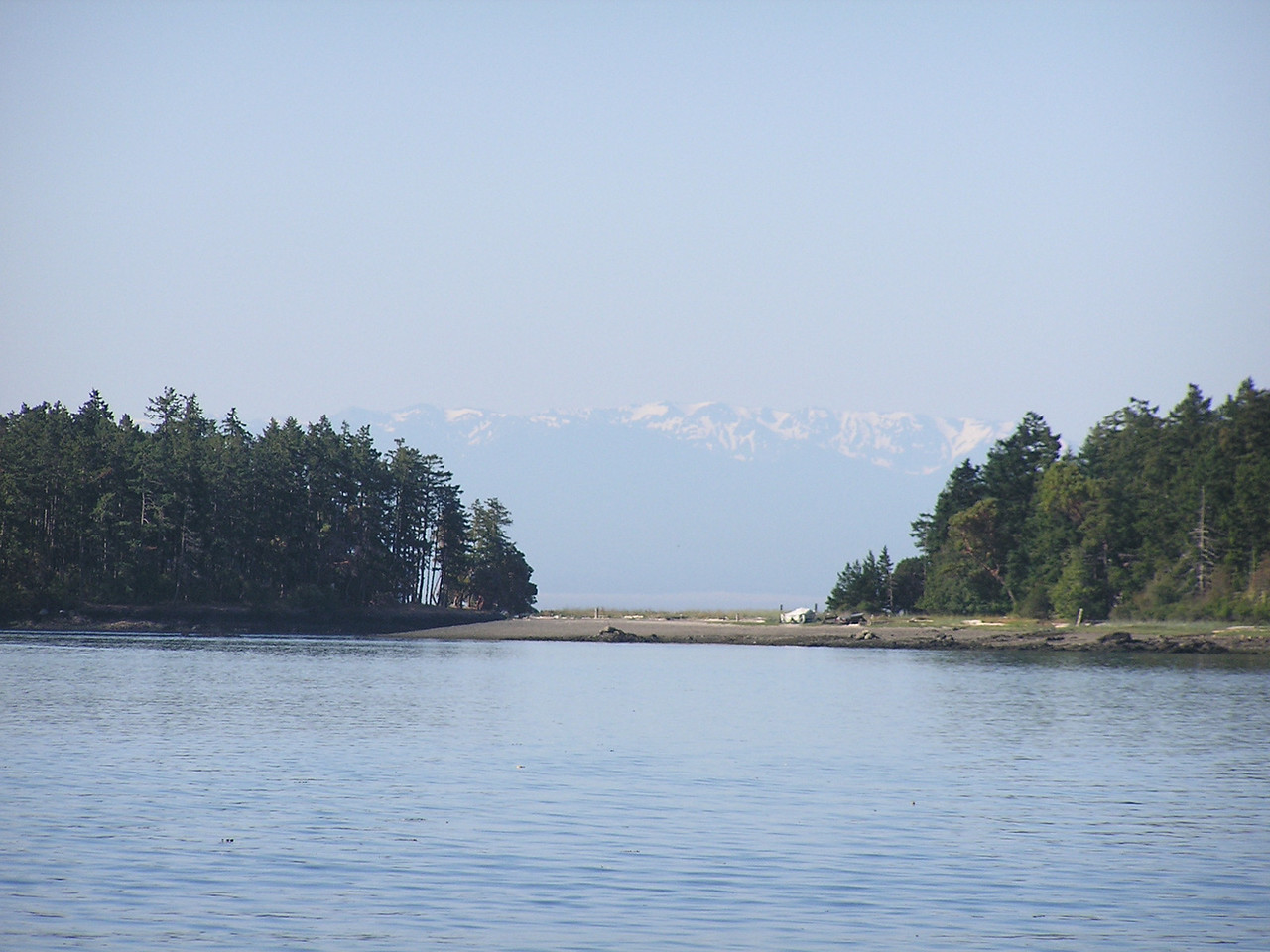 Day 6:  Sailing to Stuart Island and then continuing to Rosario on Orcas Island
