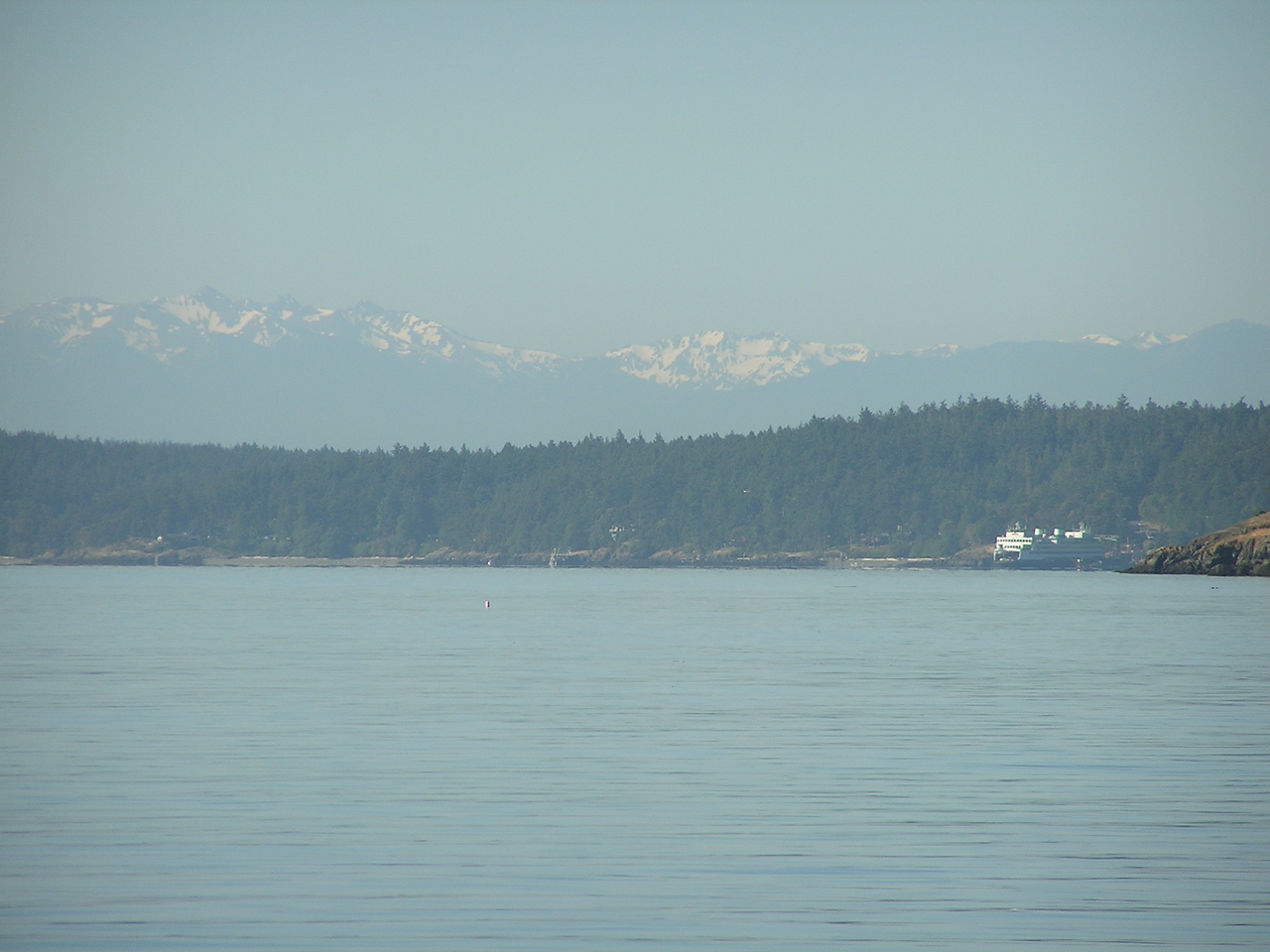 Day 7:  Sailing back to Anacortes from Rosario