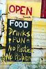 Food Drinks Fun, No Panties, No Problem, Bomba's Shack - Tortolla, BVI