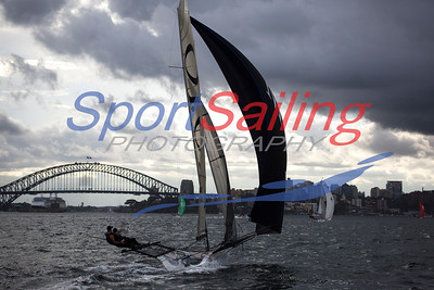 Mojo Wines 18ft Skiff Racing, JJ Giltinan 2013