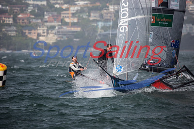 The Kitchen Maker 18ft Skiff Racing, JJ Giltinan 2013