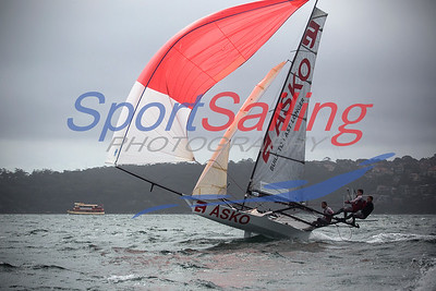 18ft Skiff Racing, JJ Giltinan 2013
