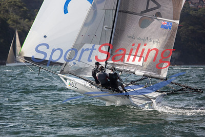 ASCC 18ft Skiff Racing, JJ Giltinan 2013