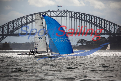 Winning Appliances 18ft Skiff Racing, JJ Giltinan 2013