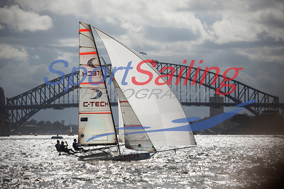 C-Tech 18ft Skiff Racing, JJ Giltinan 2013