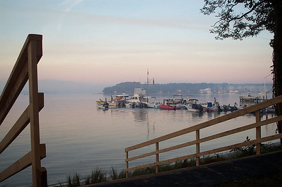 Morning at Fishing Bay Dock