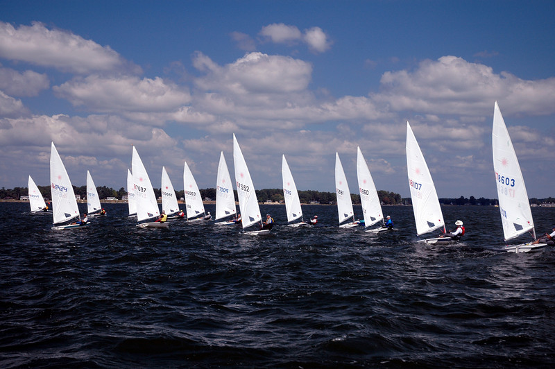 Race 9 just after the start.
