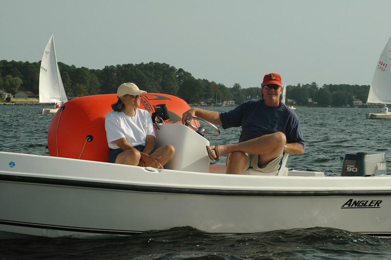 Mark boat.