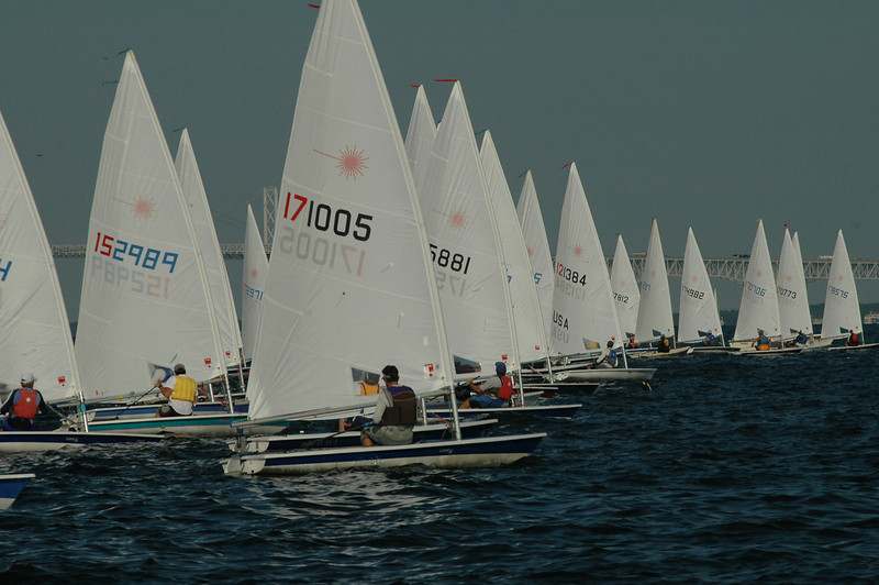 Start of Race 4: 171005 Peter Commette LYC/MYC