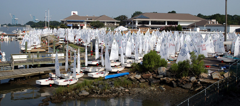 Optis at Norfolk Yacht and Country Club ready to launch