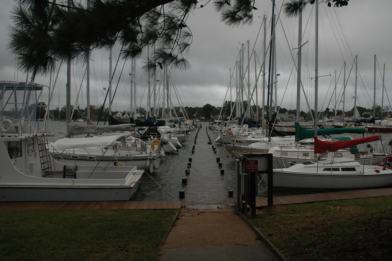 Dock on Jackson Creek.