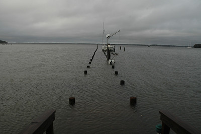 Dock on Fishing Bay.