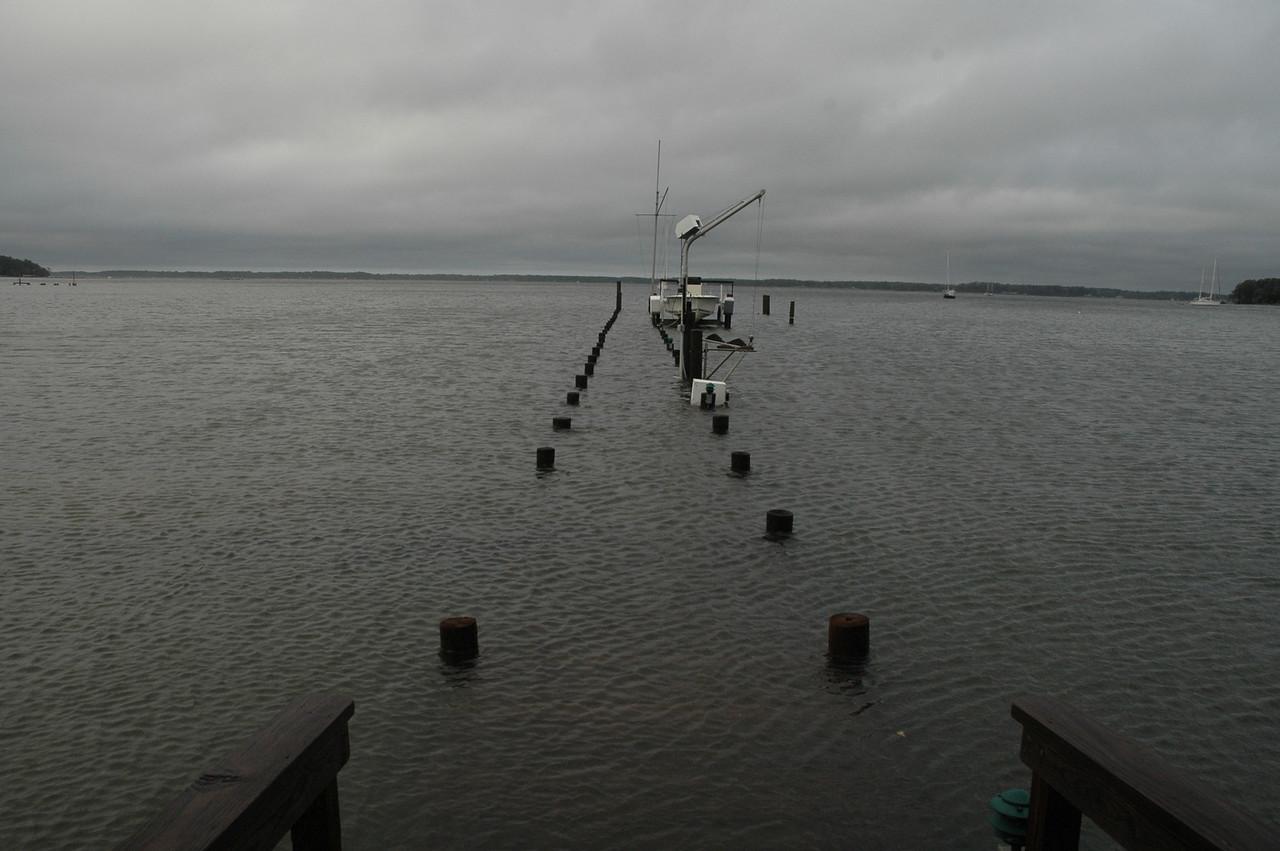 Dock on Fishing Bay.