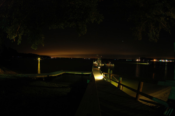 FBYC dock at night