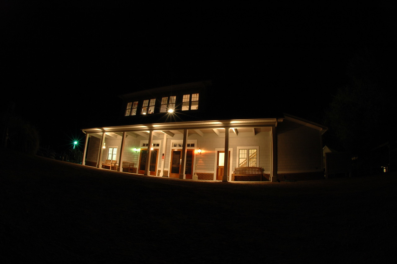 FBYC Clubhouse at night