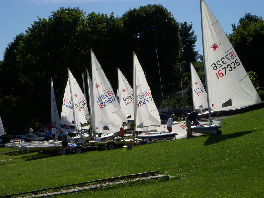 Lasers at Deep Creek Yacht Club