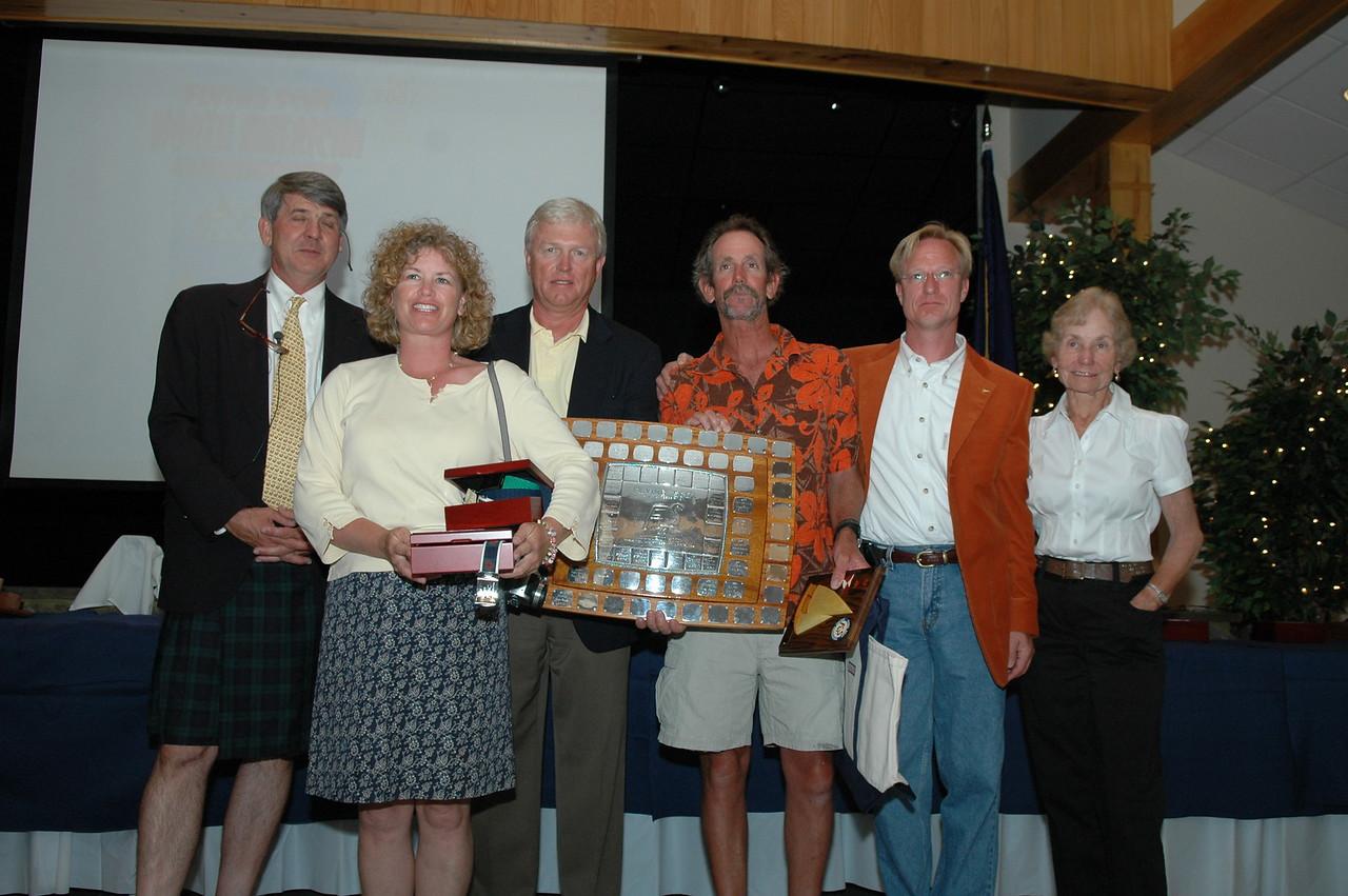 Championship Division 1st place presented teh Gordon K. Douglass Trophy 79/4925 Jeff Linton/Amy Linton