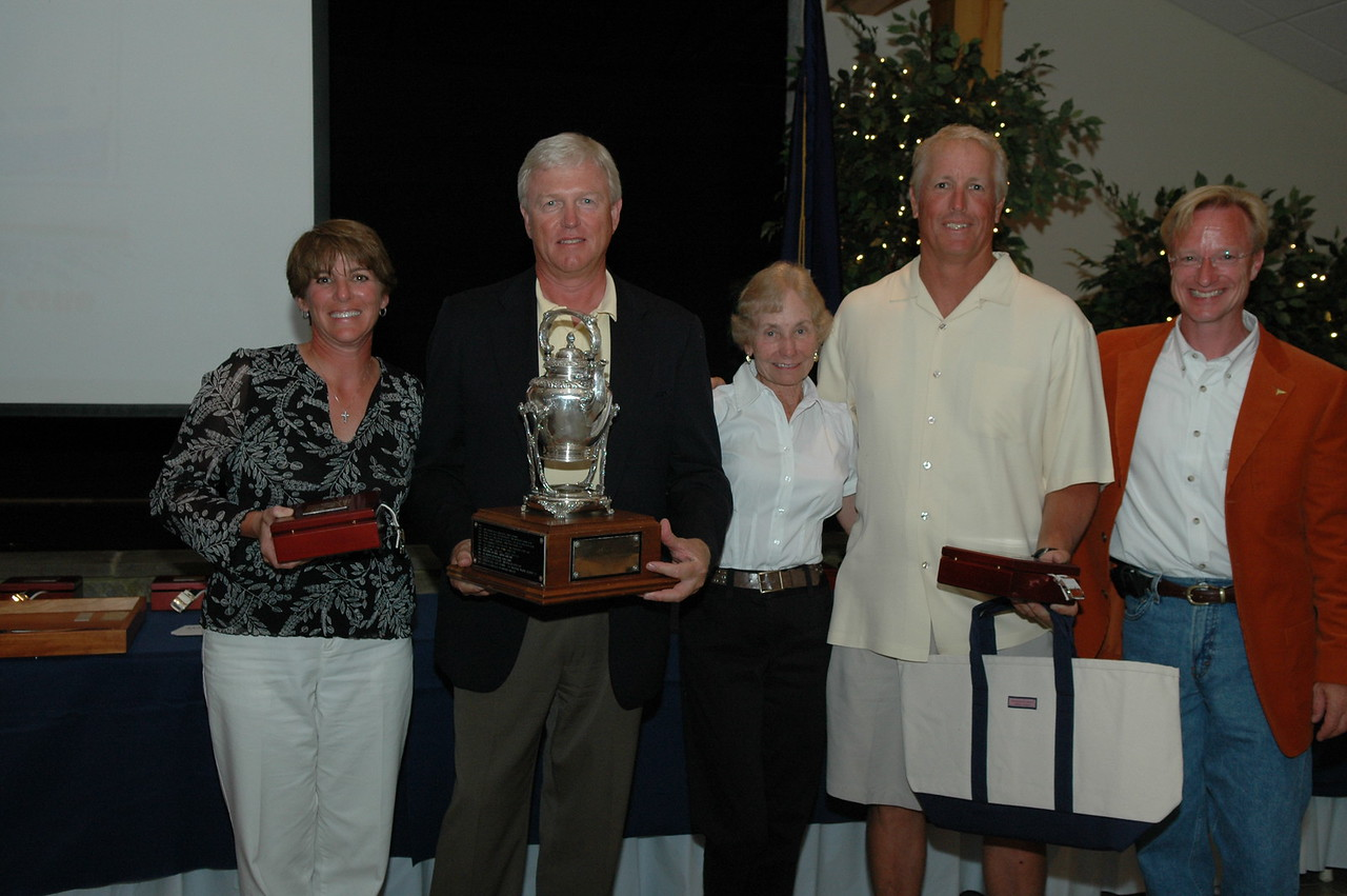 Championship Division 2nd place awarded the Howard Boston Yacht Sail Trophy 86/5454 Kelly Gough/Heidi Gough