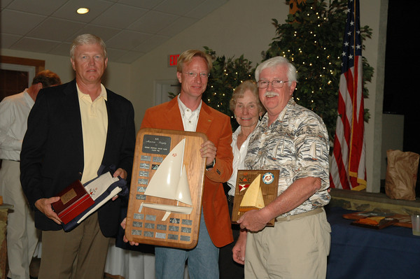 Masters Trophy awarded to the best finishing skipper 55 and up 4/341 Ronald Pletsch/Dan Pletsch