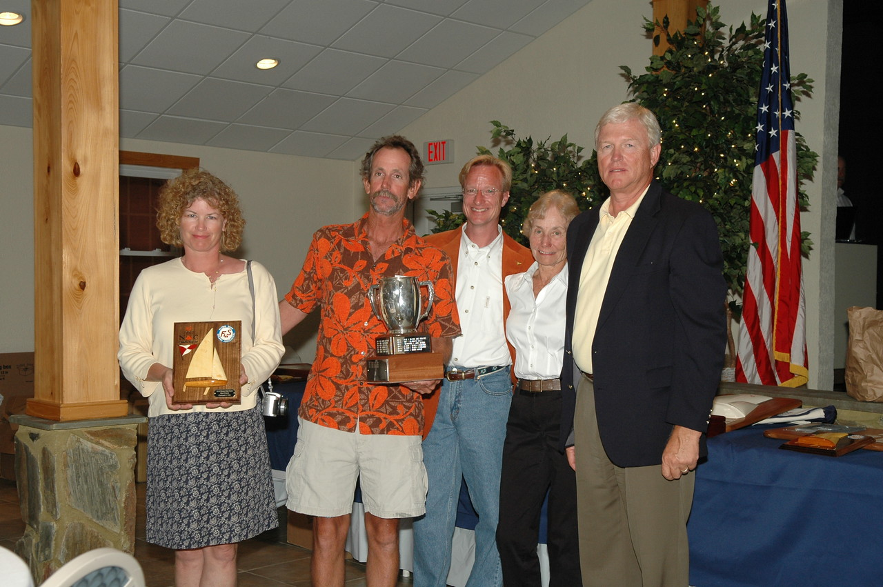 Ted and Florence Glass Trophy - Best boat with Wife/Husband only 79/4925 Jeff Linton/Amy Linton