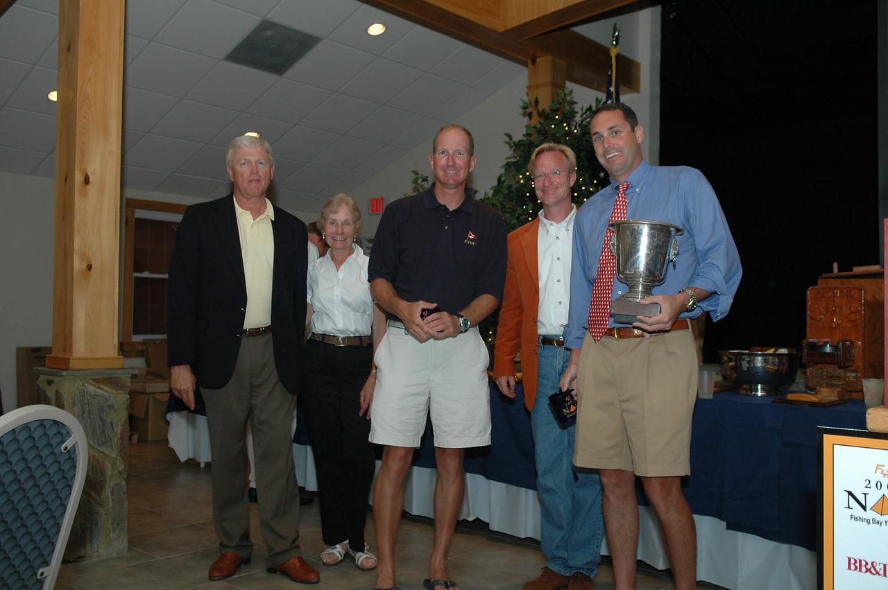 Race 4 Championship Fleet Winner awarded the Buddy Pollack Trophy 41/5341 Travis Weisleder/Ernie Deiball